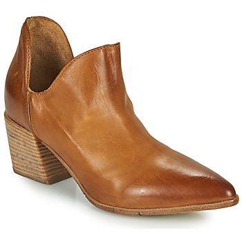 Buty Damskie Low boots Moma OSTUMI Brązowy
