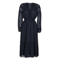 tekstylia Damskie Sukienki długie Lauren Ralph Lauren JAIRA Niebieski