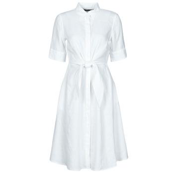 tekstylia Damskie Sukienki krótkie Lauren Ralph Lauren WAKANA Biały