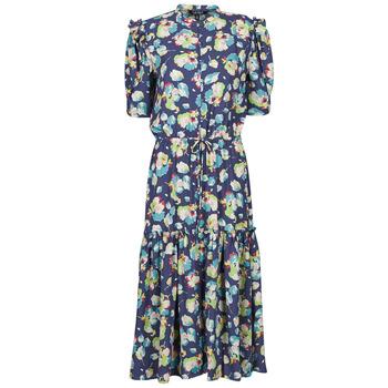 tekstylia Damskie Sukienki długie Lauren Ralph Lauren BAYZEE Wielokolorowy