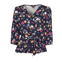 tekstylia Damskie T-shirty z krótkim rękawem Lauren Ralph Lauren SHIANETA Wielokolorowy
