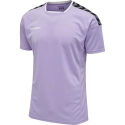 tekstylia T-shirty z krótkim rękawem Hummel Maillot  Authentic Poly HML bleu lavande