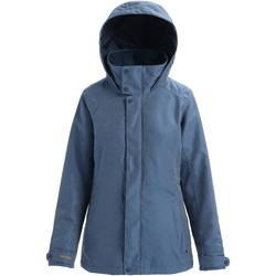 tekstylia Damskie Bluzy dresowe Burton Women's Jet Set Jacket Light Denim
