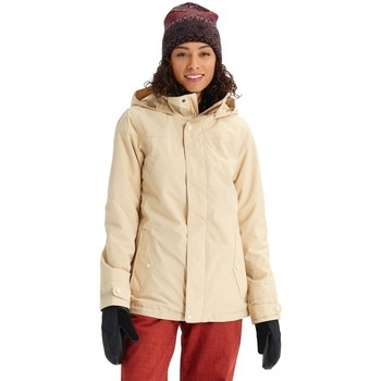 tekstylia Damskie Bluzy dresowe Burton Women Jet Set Jacket Pebble Heather