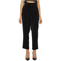 tekstylia Damskie Spodnie Anonyme PATRIZIA BETSY black