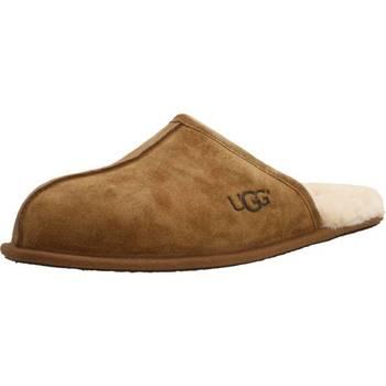 Buty Męskie Obuwie domowe UGG 1101111 Brązowy