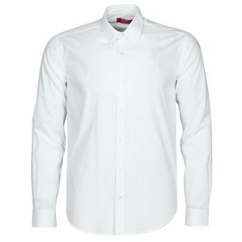 tekstylia Męskie Koszule z długim rękawem BOTD OMAN Biały