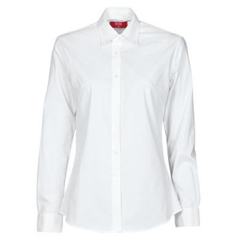 tekstylia Damskie Koszule BOTD OWOMAN Biały