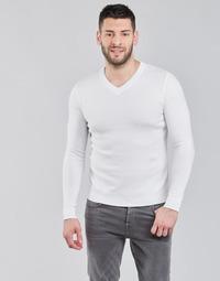 tekstylia Męskie Swetry BOTD OOMAN Biały