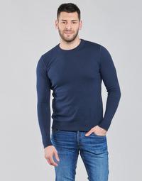 tekstylia Męskie Swetry BOTD OLDMAN Marine