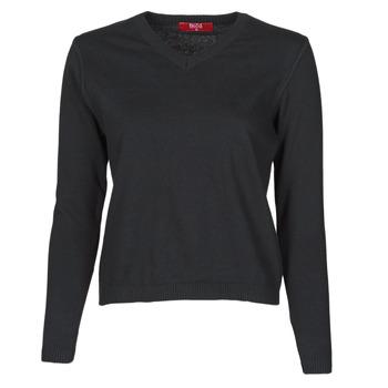 tekstylia Damskie Swetry BOTD OWOXOL Czarny