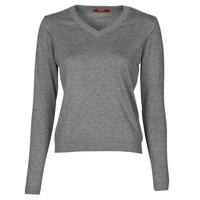 tekstylia Damskie Swetry BOTD OWOXOL Szary