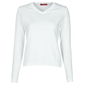 tekstylia Damskie Swetry BOTD OWOXOL Biały