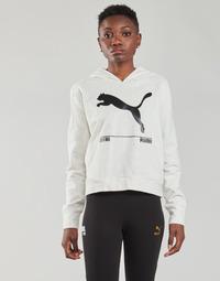 tekstylia Damskie Bluzy Puma NUTILITY HOODY Biały
