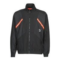 tekstylia Męskie Bluzy dresowe Puma WVN JACKET Czarny / Czerwony