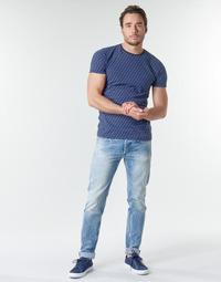 tekstylia Męskie Jeansy straight leg Replay WIKKBI Super / Light / Blue