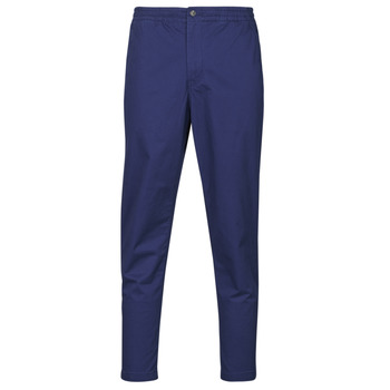 tekstylia Męskie Spodnie z pięcioma kieszeniami Polo Ralph Lauren PANTALON CHINO PREPSTER AJUSTABLE ELASTIQUE AVEC CORDON INTERIEU Navy