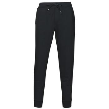 tekstylia Męskie Spodnie dresowe Polo Ralph Lauren PANTALON DE JOGGING EN DOUBLE KNIT TECH LOGO PONY PLAYER Czarny