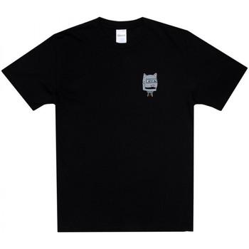 tekstylia Męskie T-shirty z krótkim rękawem Ripndip Bionic nerm tee Czarny