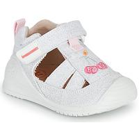 Buty Dziewczynka Sandały Biomecanics 212213 Srebrny / Biały