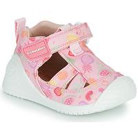 Buty Dziewczynka Sandały Biomecanics 212212 Różowy