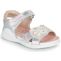 Buty Dziewczynka Sandały Biomecanics 212172 Srebrny