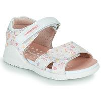 Buty Dziewczynka Sandały Biomecanics 212165 Biały / Multico