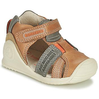 Buty Chłopiec Sandały Biomecanics 212135 Cognac