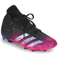 Buty Dziecko Piłka nożna adidas Performance PREDATOR FREAK .3 F Czarny / Różowy