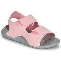 Buty Dziewczynka Sandały adidas Performance SWIM SANDAL C Różowy