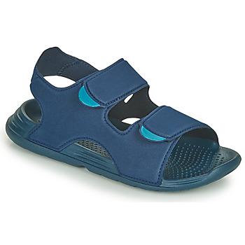 Buty Chłopiec Sandały adidas Performance SWIM SANDAL C Niebieski