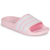 Buty Dziewczynka Sandały adidas Performance ADILETTE AQUA K Różowy