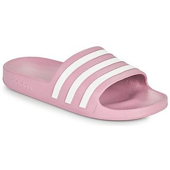Buty Damskie klapki adidas Performance ADILETTE AQUA Różowy