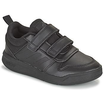 Buty Dziecko Trampki niskie adidas Performance TENSAUR C Czarny