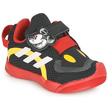 Buty Dziecko Trampki niskie adidas Performance ACTIVEPLAY MICKEY I Czarny / Czerwony