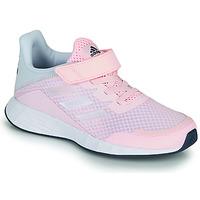 Buty Dziewczynka Trampki niskie adidas Performance DURAMO SL C Różowy