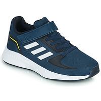 Buty Chłopiec Bieganie / trail adidas Performance RUNFALCON 2.0 C Marine / Biały