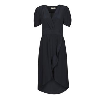 tekstylia Damskie Sukienki długie See U Soon 21121204 Marine