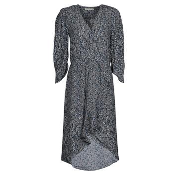 tekstylia Damskie Sukienki długie See U Soon 21121030 Szary