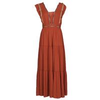 tekstylia Damskie Sukienki długie See U Soon 21121116 Czerwony