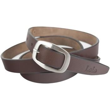 Dodatki Paski Lois Unisex Leather Brązowy