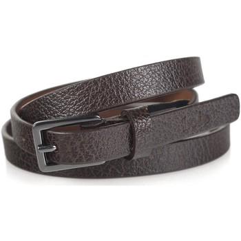 Dodatki Paski Lois Engraved Leather Brązowy