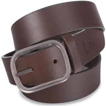 Dodatki Męskie Paski Lois Classic Leather Brązowy