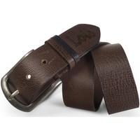 Dodatki Męskie Paski Lois Elegant Leather Brązowy