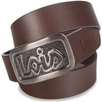 Dodatki Męskie Paski Lois Vanguard Leather Brązowy