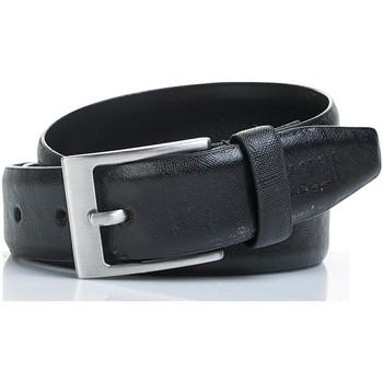 Dodatki Paski Jaslen Snake Leather Czarny
