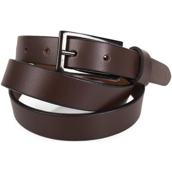 Dodatki Paski Jaslen Unisex Leather Brązowy