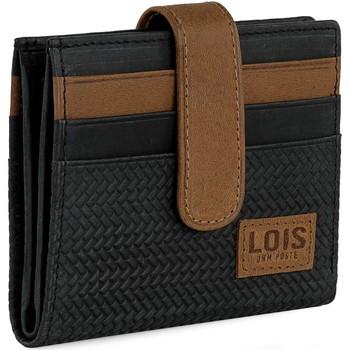 Torby Męskie Aktówki / Teczki Lois DAVIDSON Męski portfel skórzany Czarny