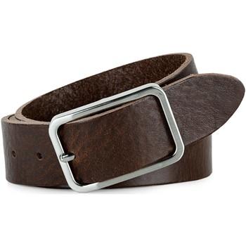 Dodatki Męskie Paski Jaslen Pin Leather Brązowy