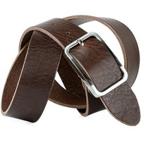 Dodatki Paski Jaslen Pin Leather Brązowy